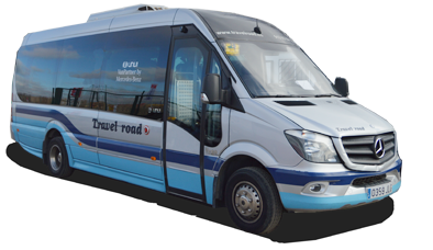 Travel road, shuttlel transfers al aeropuerto